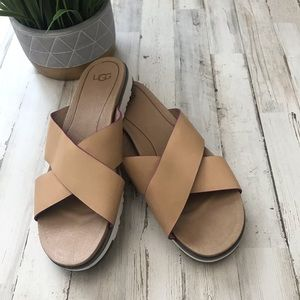 03746dbc7d4 Women Ugg Flat Sandals on Poshmark